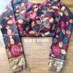 handpainted blouse