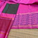 Pink pattu by cotton top