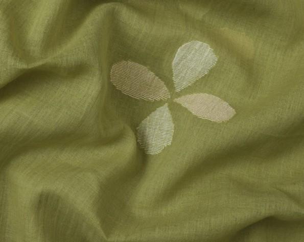 Green Jamdani-1